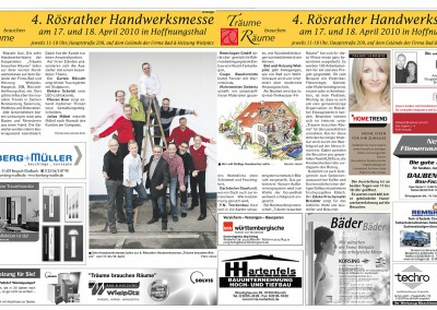 Bergisches Handelsblatt April 2010